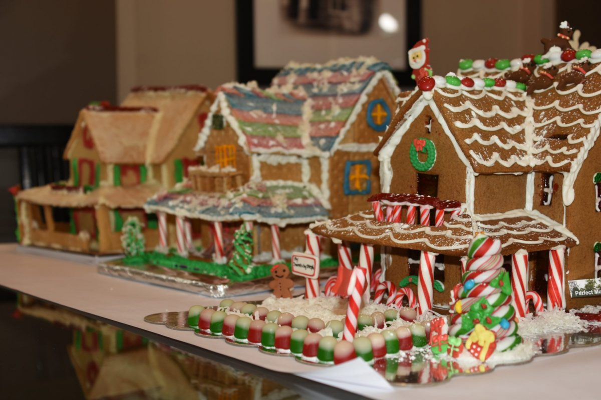 Gingerbread row