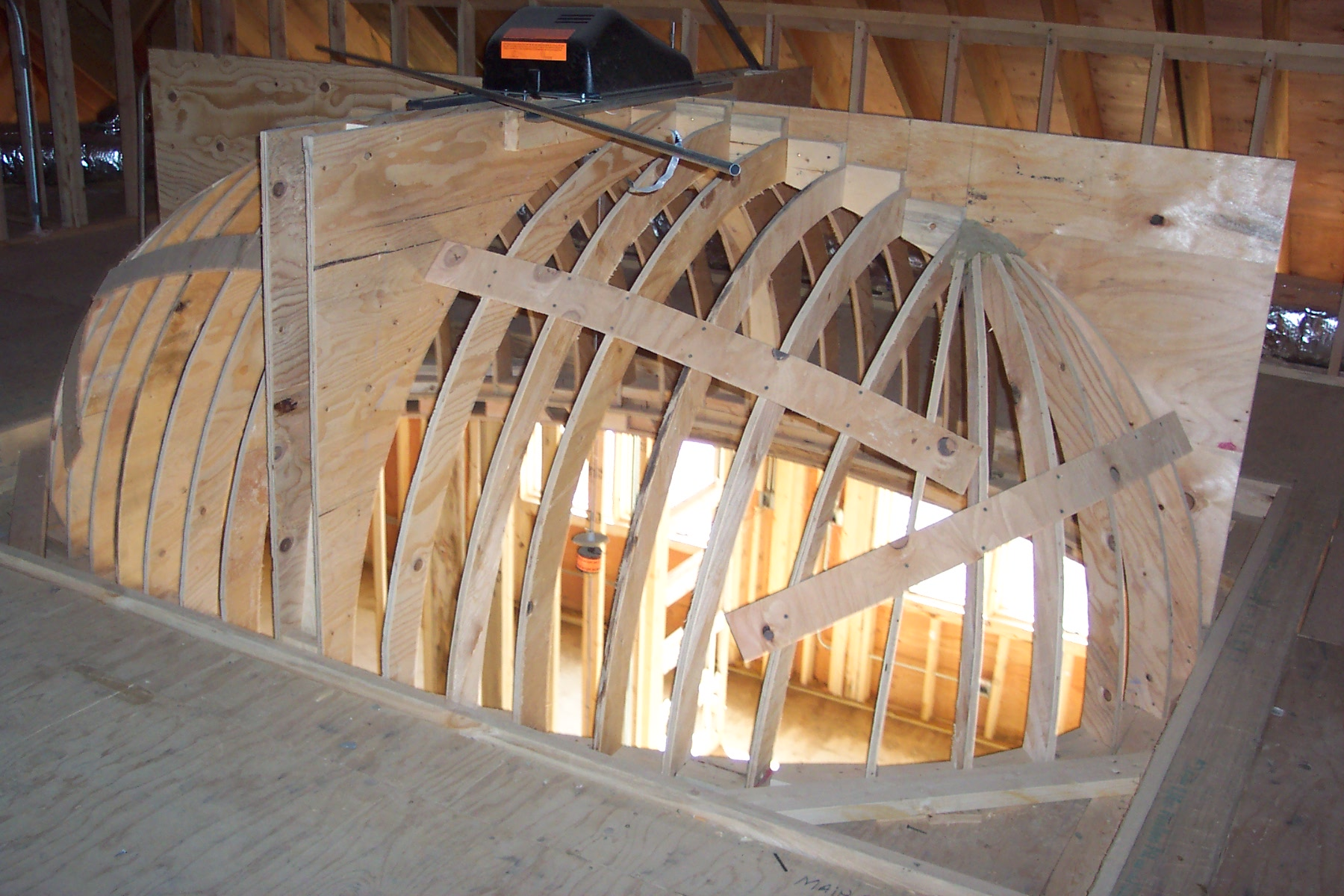 Michael Buss Architects Dome