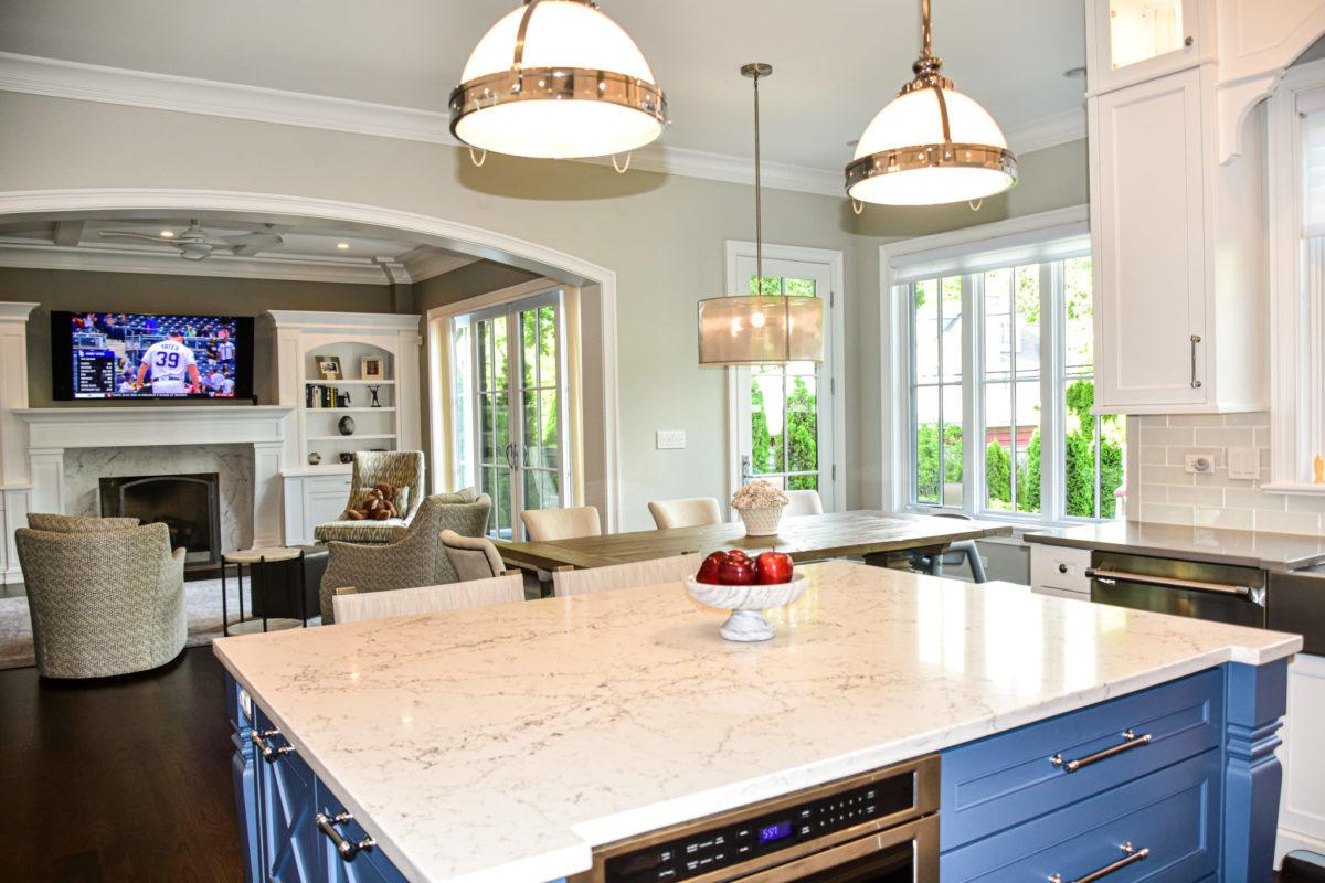 Michael Buss Architects Custom Home Kitchen